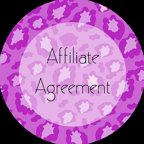 Fashion---Affiliate Agreement