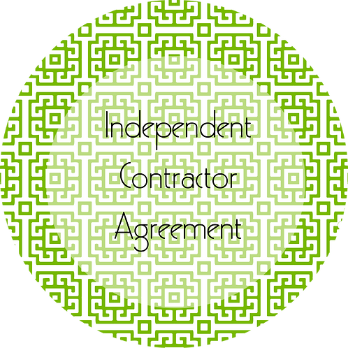 Visual Arts--- Independent Contractor Agreement