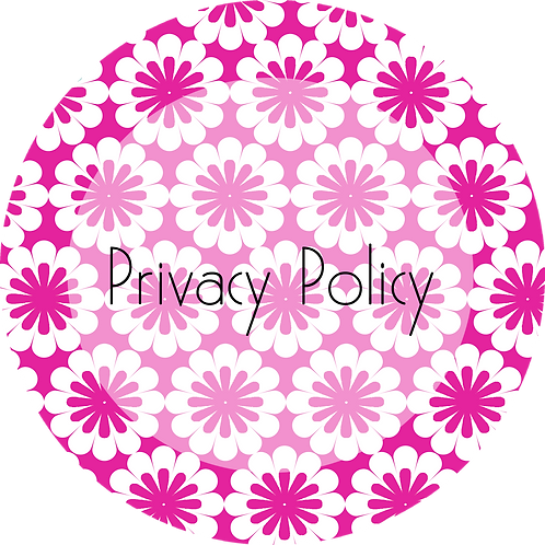 Floral Design---Privacy Policy