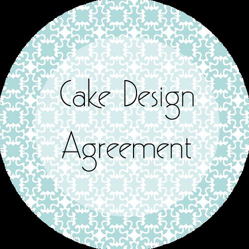 Wedding Cake Design---Client Agreement