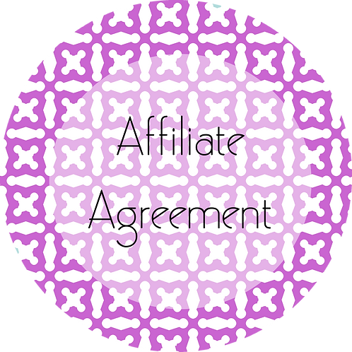 Spa Businesses---Affiliate Agreement