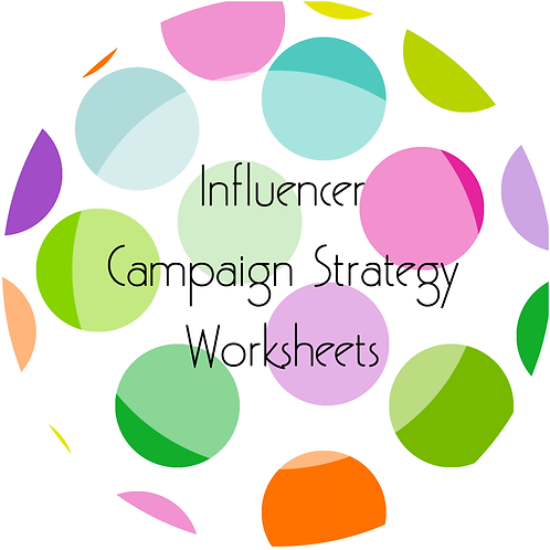 Add-Ons---Influencer Campaign Strategy Worksheet