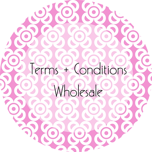 Photography--- Terms & Conditions Wholesale