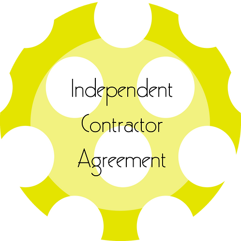 Kids Businesses--- Independent Contractor Agreement