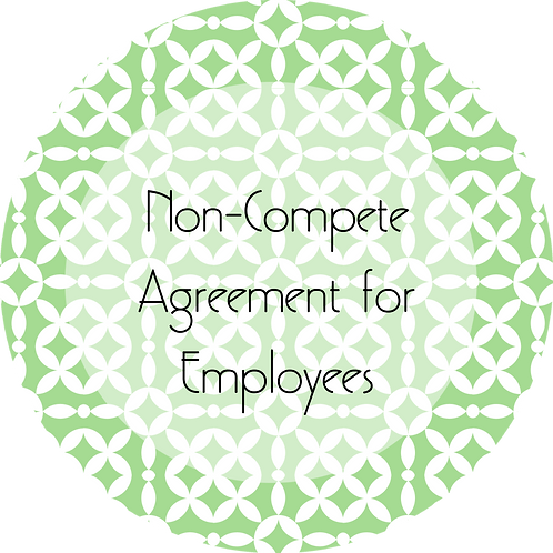 Event Entertainment--- Non-Compete Agreement for Employees