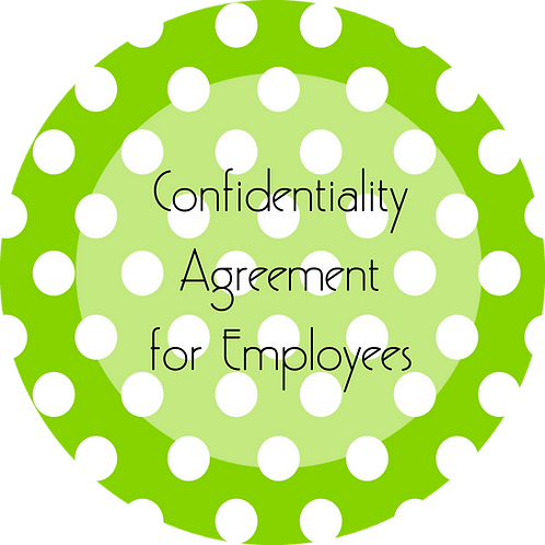 Crafter--- Confidentiality Agreement for Employees