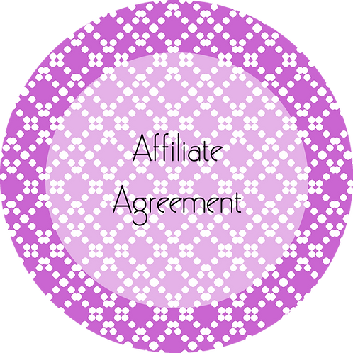 Blogs---Affiliate Agreement
