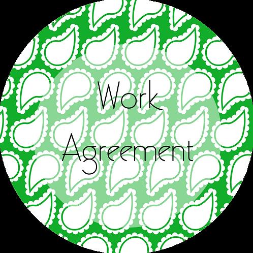 Wedding Planner--- Work Agreement