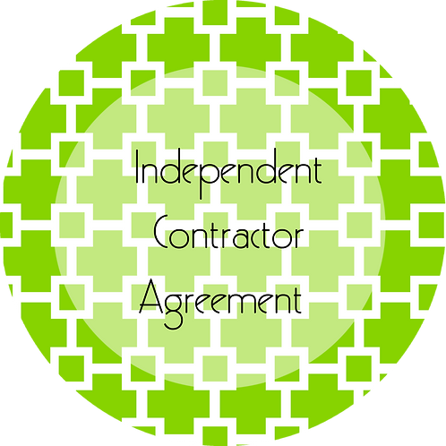 Graphic and Web Design--- Independent Contractor Agreement