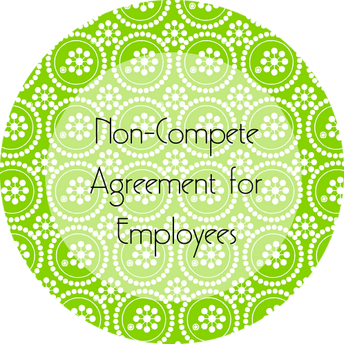 Writers & Authors--- Non-Compete Agreement for Employees