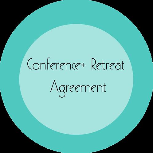 Conferences + Retreats---Event Agreement