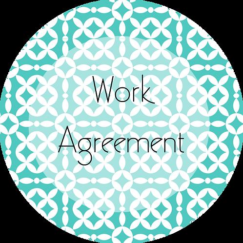 Event Entertainment--- Work Agreement