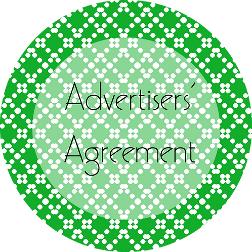 Blogs---Advertisers Agreement