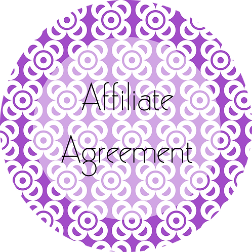Photography---Affiliate Agreement