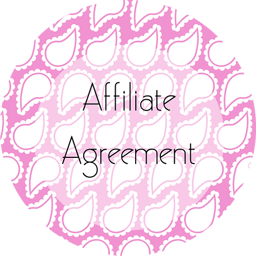 Wedding Planner ---Affiliate Agreement