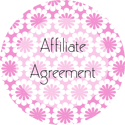 Floral Design---Affiliate Agreement