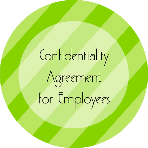 Coaching--- Confidentiality Agreement for Employees
