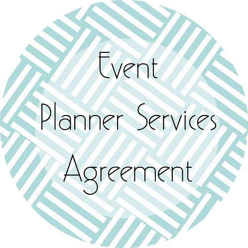 Event Planner--- Client Agreement