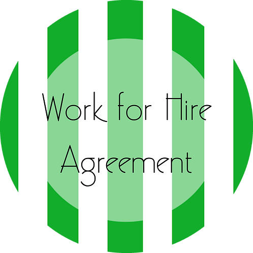 Music---Work for Hire Agreement