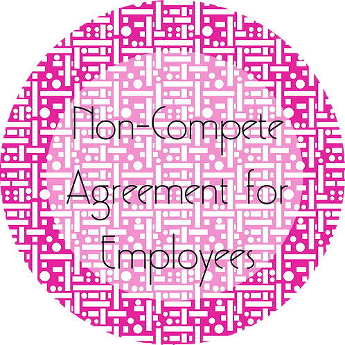 Filmmaker--- Non-Compete Agreement for Employees