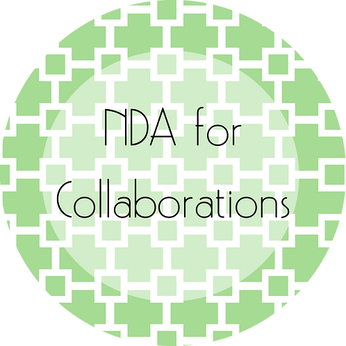 Graphic and Web Design---NDA for Collaborations