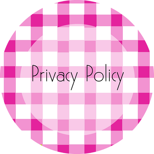 Calligraphy & Paper Goods---Privacy Policy