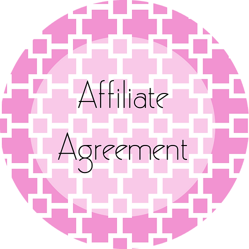 Graphic and Web Design---Affiliate Agreement
