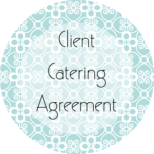 Catering--- Client Agreement