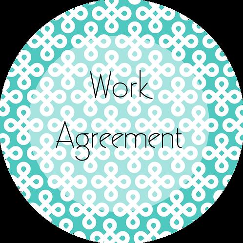 Interior Design--- Work Agreement
