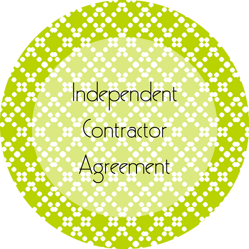 Blogs--- Independent Contractor Agreement