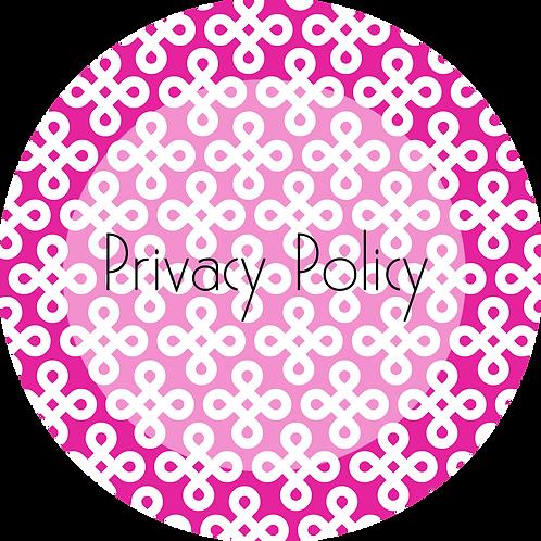 Interior Design---Privacy Policy