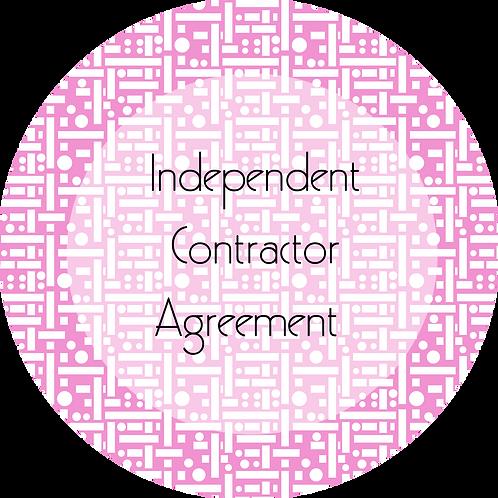 Filmmmaker--- Independent Contractor Agreement