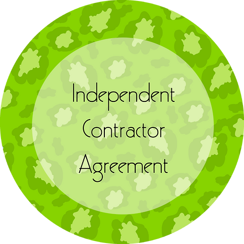 Fashion--- Independent Contractor Agreement