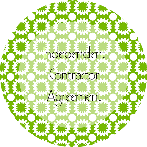 Painters--- Independent Contractor Agreement