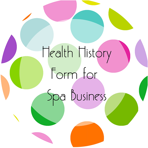 Add-Ons---Health History for Spa Business