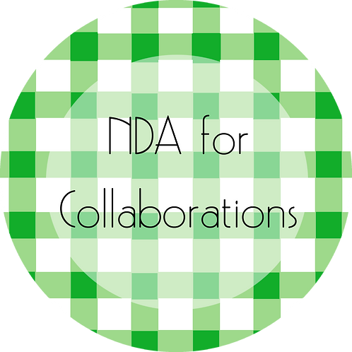Calligraphy & Paper Goods---NDA for Collaborations
