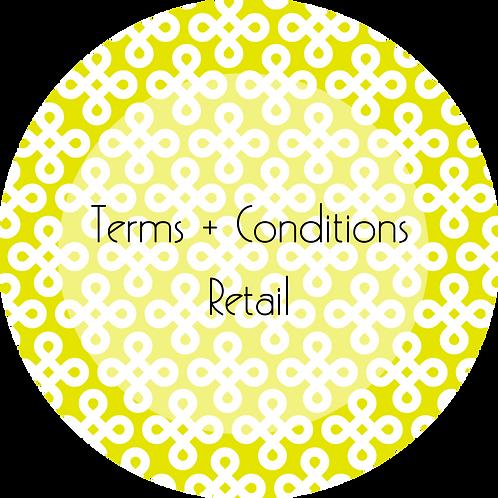 Interior Design--- Terms & Conditions Online