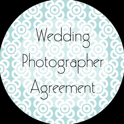 Photography---Wedding Photography Agreement