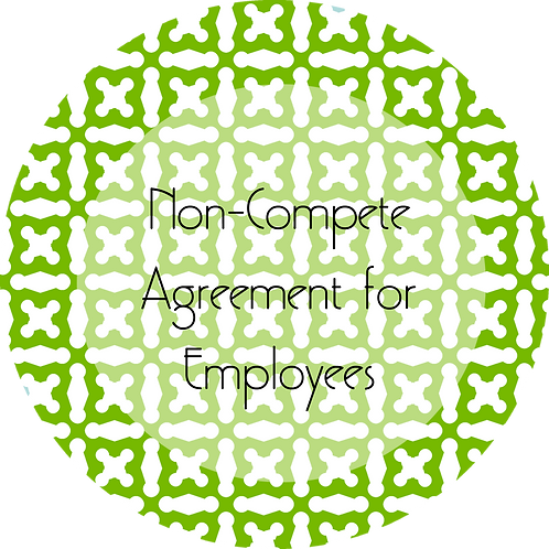 Spa Businesses--- Non-Compete Agreement for Employees