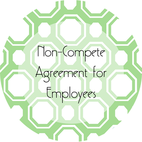 Beauty Services--- Non-Compete Agreement for Employees