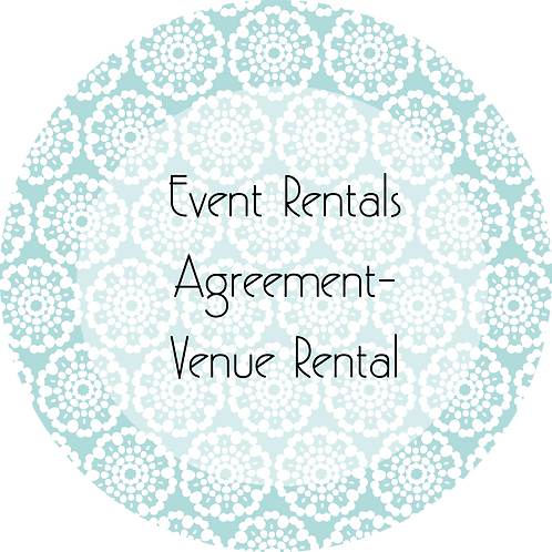 Event Rental---Venue Rental