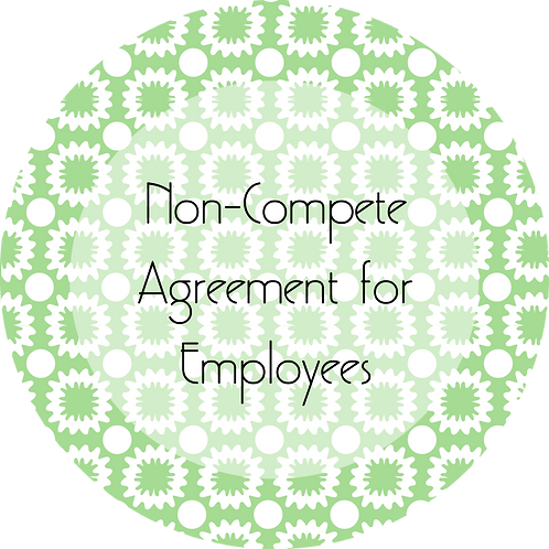 Painters--- Non-Compete Agreement for Employees