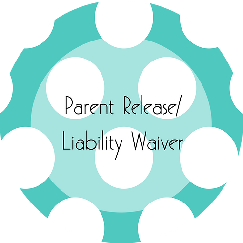 Kids Businesses---Parent Release/Liability Waiver