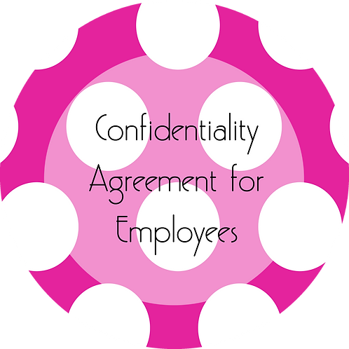 Kids Businesses--- Confidentiality Agreement for Employees