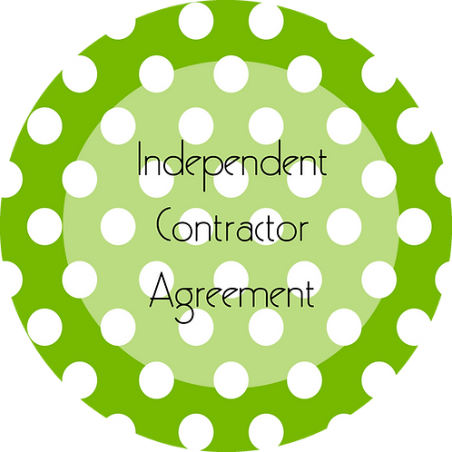 Crafter--- Independent Contractor Agreement