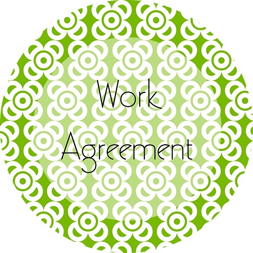 Photography--- Work Agreement