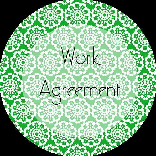 Event Rentals--- Work Agreement