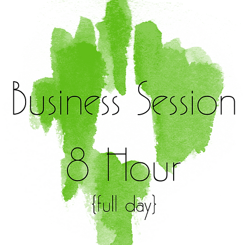 Business Session ---8 Hour {full day}
