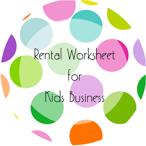 Add-Ons---Kid Business Rental Worksheet