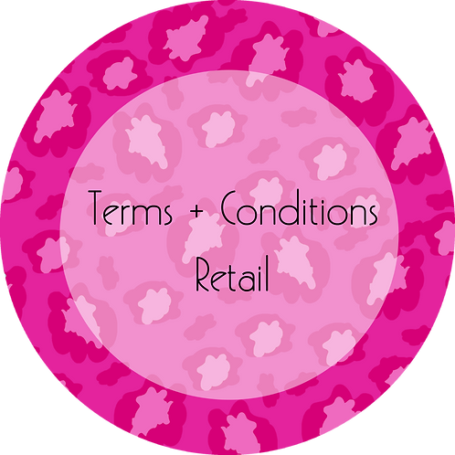 Fashion--- Terms & Conditions Online